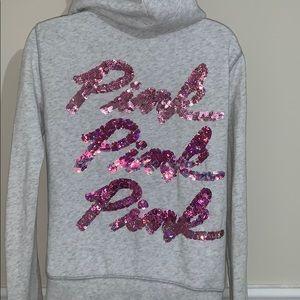 Victoria's Secret pink zipup